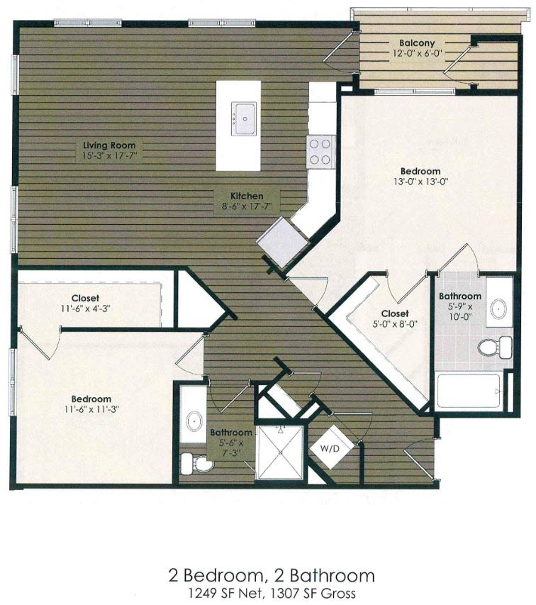 2 Bedroom - Baum