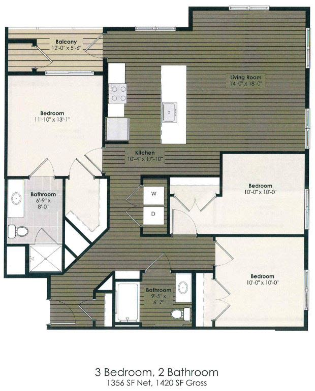 3 Bedroom - Shakespeare